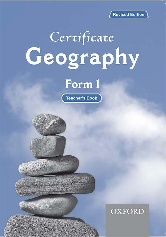 Certificate Geography Form 1 Teacher's Book