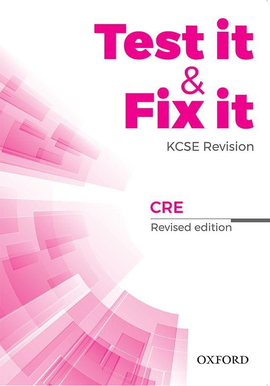 Test it & Fix it KCSE Revision CRE