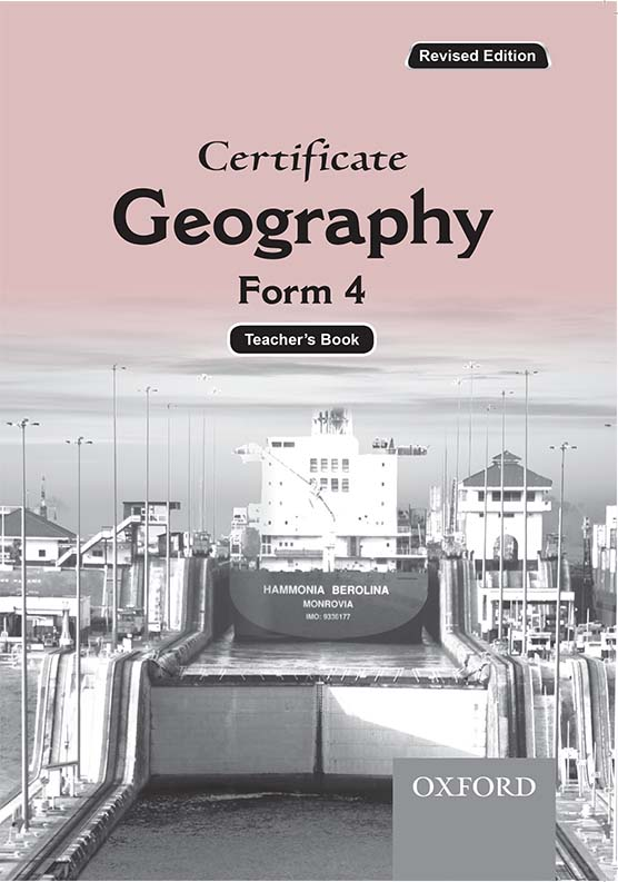Certificate Geography Form 4 Teacher's Book
