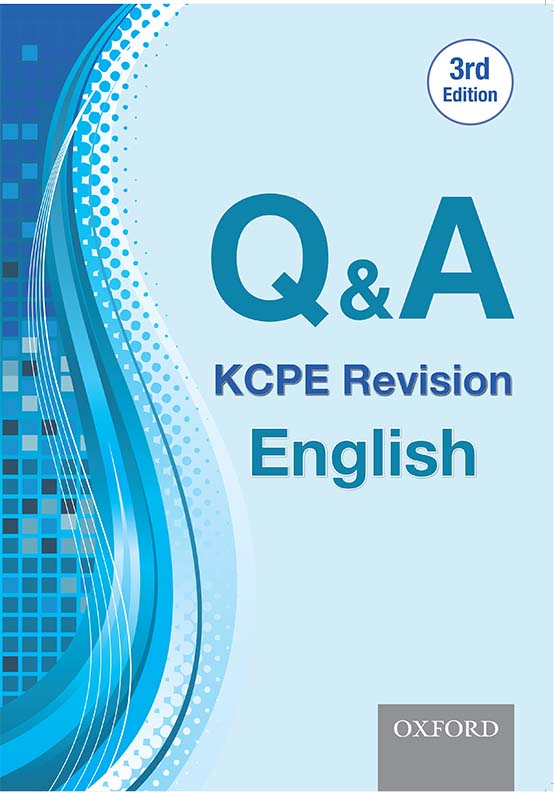 Q & A: KCPE Revision English , 3rd Edition