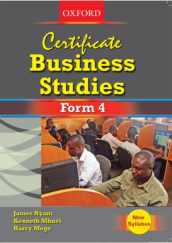 Certificate Business Studies Form 4 Student's Book