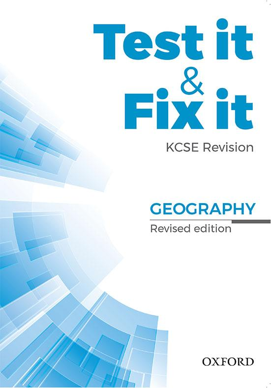 Test it & Fix it KCSE Revision Geography