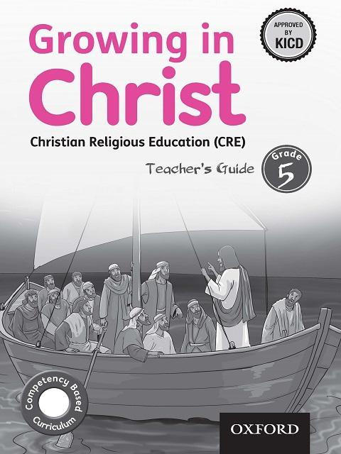 Growing in Christ Christian Religious Education Teacher's Guide Grade 5